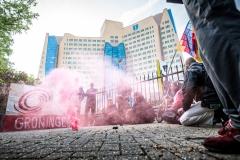 20190527 Code Rood protesteert bij de Gasunie in Groningen